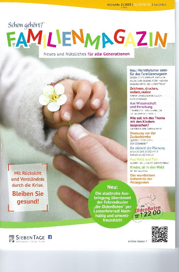 Aktuelles Familienmagazin